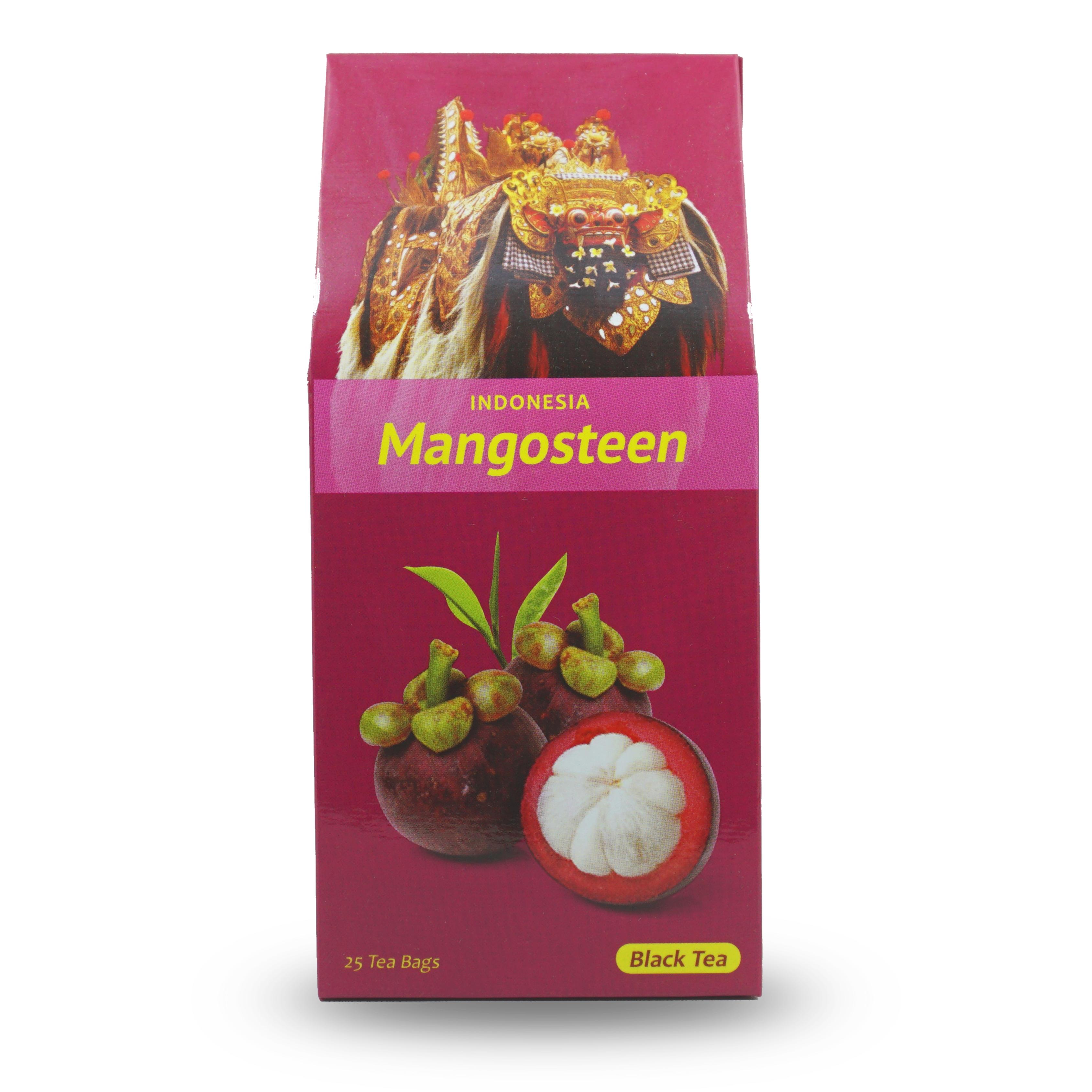 teh kotak mangosteen fruit 25 bags kopi bali cap kupu kupu bola dunia pt putra bhineka perkasa teh kotak mangosteen fruit 25 bags